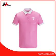 High quality custom logo baseball polo shirts wholesaler