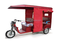 2016 Newest electric tricycle for passenger taxi rickshaw
