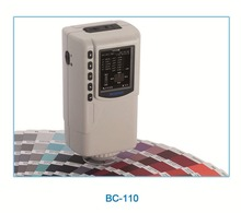 Hand-head structure Colorimeter with Built-in white plate parameters