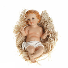 Wholesale Polyresin Nativity Sets, Religious baby jesus For Christmas