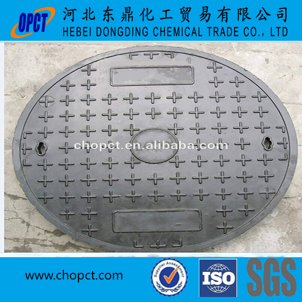 Dia 600mm D400 EN124 GRP FRP locked manhole cover