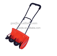 High performance manual push snow thrower