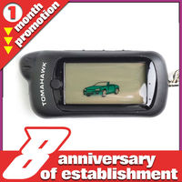 20% off on sale!!! long distance Tomahawk Z5 Two way car alarm system LCD remote car starter with engine starter