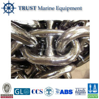 Marine steel galvanized stud link anchor chain