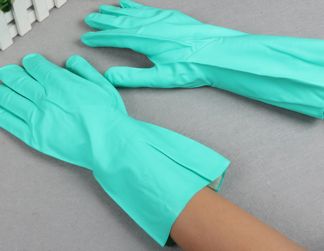 Manufacturers sell clear acrylic latex gloves, natural latex gloves, industrial wear-resistant labor protec
