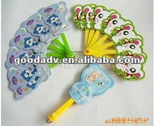 wholesale cartoon Hot selling Portable and Funny mini plastic hand fan