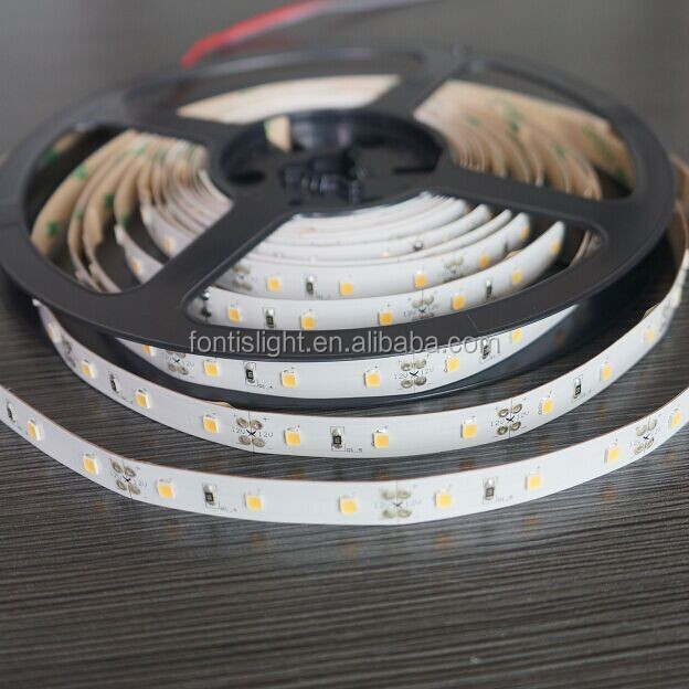 Super Good Quality Factory Price Epistar Led Chip SMD2835 Led Strip 72W/Roll 12V/24V 60Leds/M