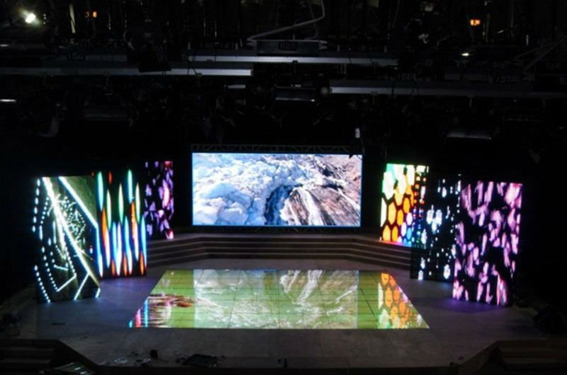 Free Big RGB LED screen intdoor video led display module p6 advertising LED screen