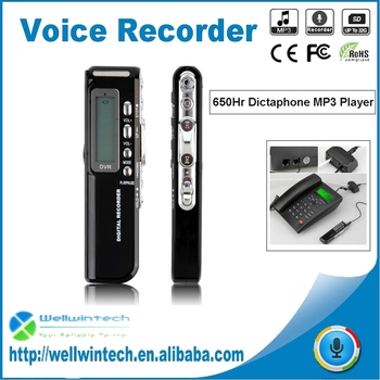 8GB Mini USB Digital Voice Recorder with MP3 Function