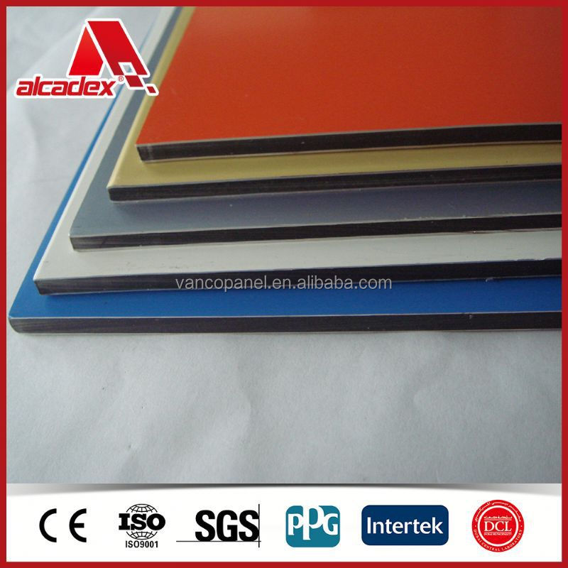 plastic aluminum composite roof sandwich panel