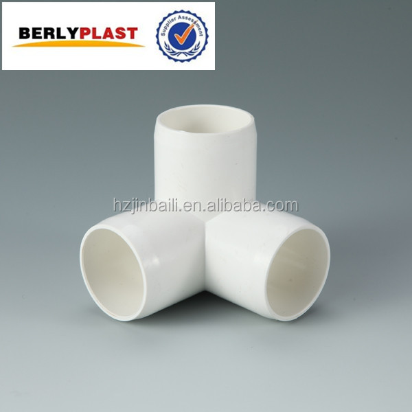ASTM Schedule 40 Slip 3 Way elbow Pipe Sanitary Fittings Price PVC Fitting
