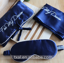 good quality sleeping eyemask silk eye mask with silk bag package