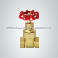 Hot selling brass locking gate valves