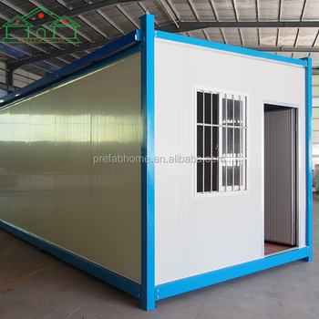 Modular low cost movable living tiny prefabricated container house for sale