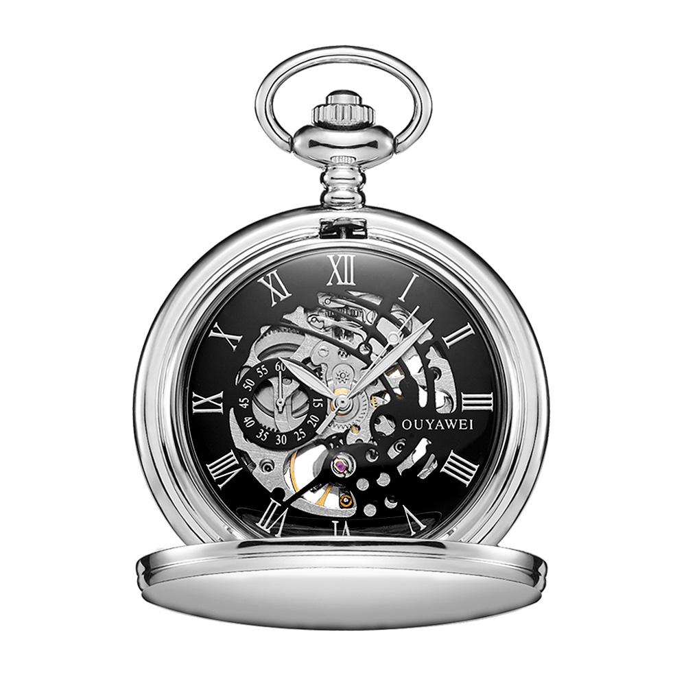 ladies watch suppliers waterproof pocket watch with chain alloy case promotional design your own
