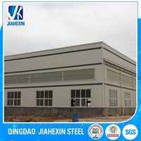 Construction & real estate peb steel frame structure buildings house