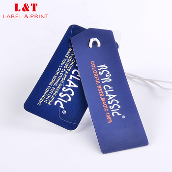Factory Direct Die Cut Gloss Luggage Tag Pvc