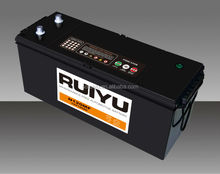 12V JIS N120 Sealed maintenance free car BATTERY