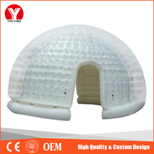 HOT large Inflatable crystal bubble tent for events