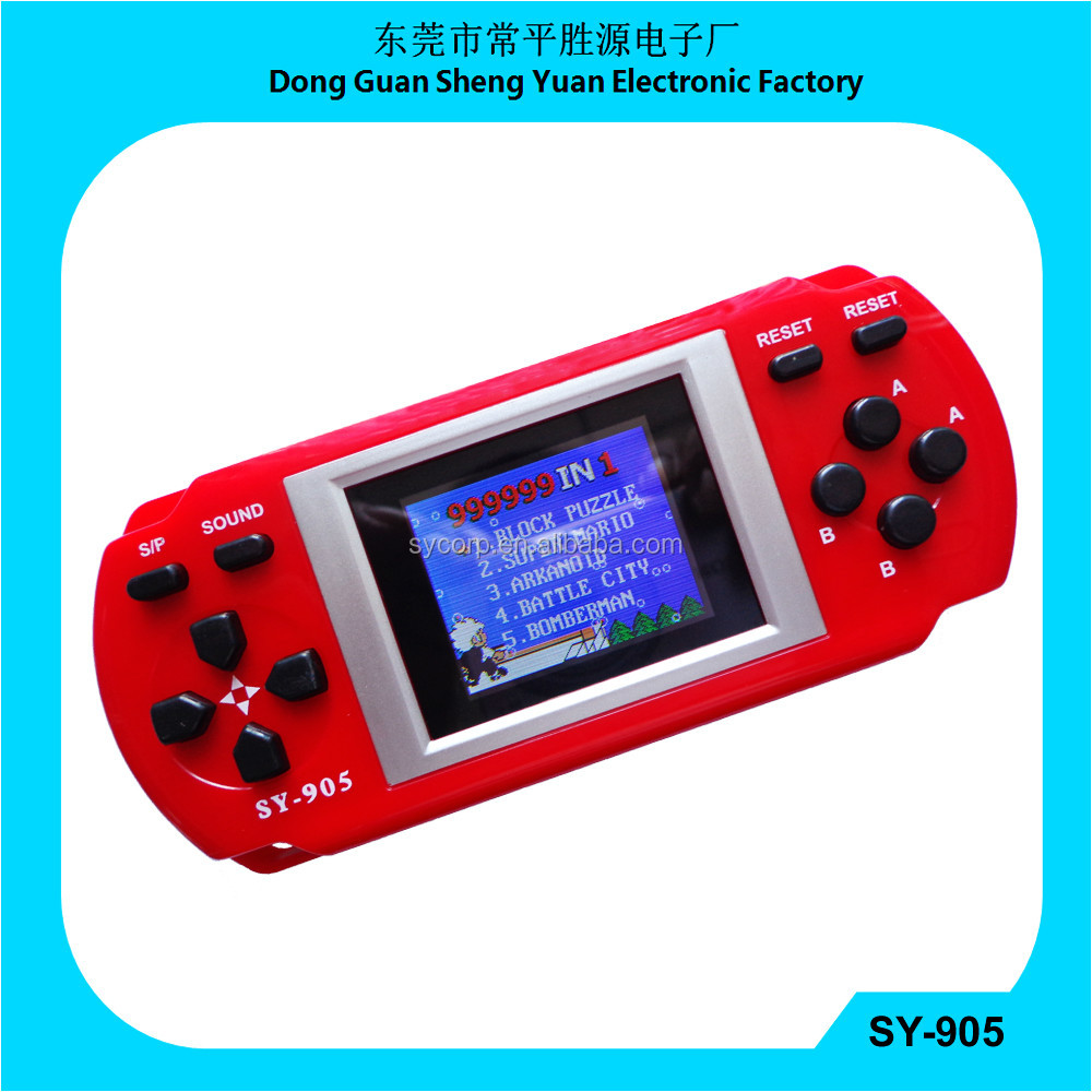 high quality adult games SY-905 999999 in 1 Digital Color of Handheld Game