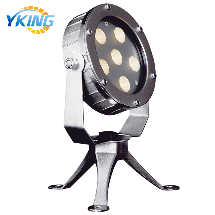 Landscape Decoration 316 stainless steel 18W rgb IP68 led underwater pond lights