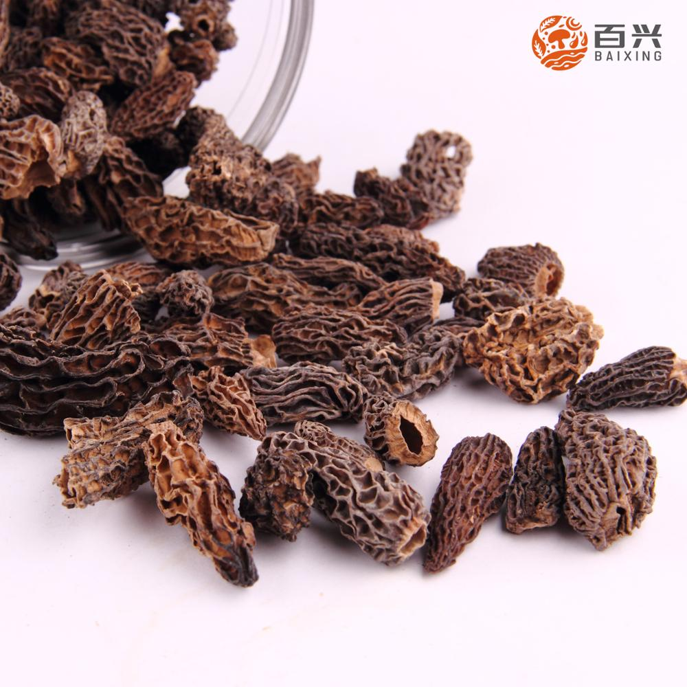 Price of dried black morel mushrooms morchella esculenta for sale