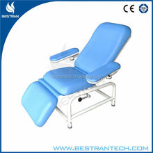 BT-DN008 Arm rest recliner manual blood donor beds
