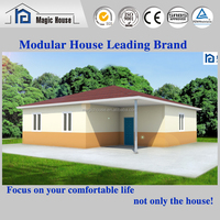 74mm/94mm/119mm/144mm thick wall 3 bedroom house floor plans NO COLLAPSE concrete prefab house