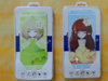 Manufacturer from China supply colorful tempered glass protective film for iphone5/6 cartoon screen protector