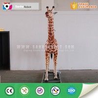 Entertainment equipment life size giraffe