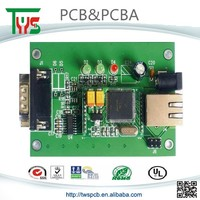 pcb and assembly smd chip on board with out through hole components