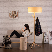 Buy Floor Lamp with fabric lampshade and in China on Alibaba.com