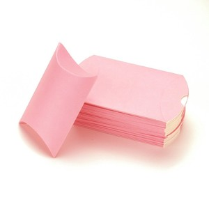 Good Quality Pink Pillow Shaped Cosmetic Box