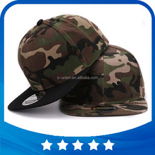 Camo snapback 100% polyester cap blank flat baseball cap with no embroidery sport mens cap and <strong>hat</strong> for men and women