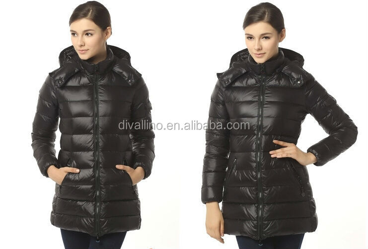 2016 HOT SALES women winter ultralight long style down jacket