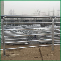 10ft, 12ft length 5mmx25NB Pipe hot dip galvanized Farm Gates with Star Picket