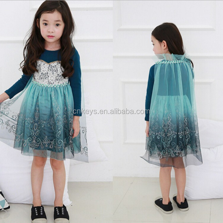E0099A Hot Selling Baby Girls Dresses Party Wear Dresses For Girls