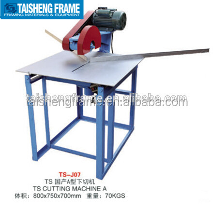 Ts07 Platform Movable Cutting Machine Electro Hydraulic Mitre
