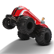 1:10 Scale Electrical RC Jumping Tractor Car Damping effect Remote Control Bounce Truck Vehicle