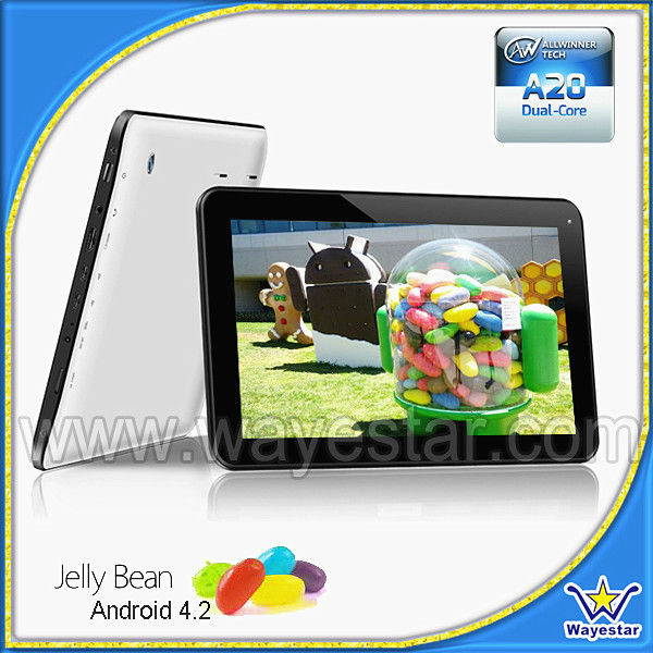 Boxchip A20 Cheap Dual Core tech pad 10 inch android tablet
