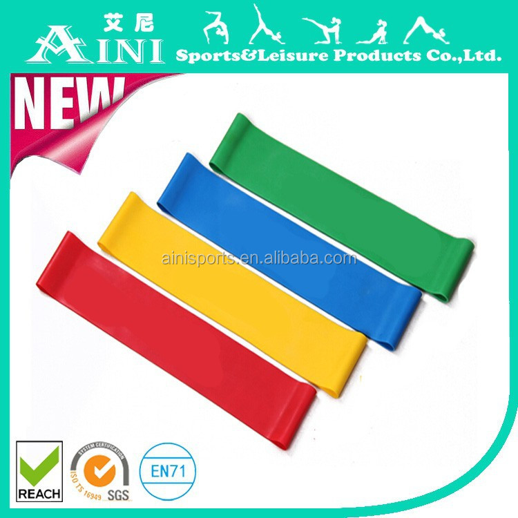 The gym strength training of emulsion resistance bands of track and field training equipment applied for bodybuilding elastic be