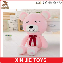 good night teddy bear plush toy sleeping soft teddy bear toy