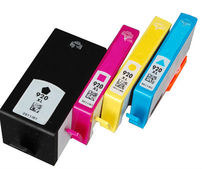 Compatible Ink Cartridge Replacement for HP 920XL Black/Colors Ink Cartridge Refilled For Hp Ink Cartridge
