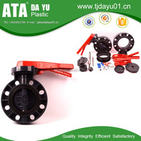 water butterfly valves dn150 hand lever operated lug type water plastic valve
