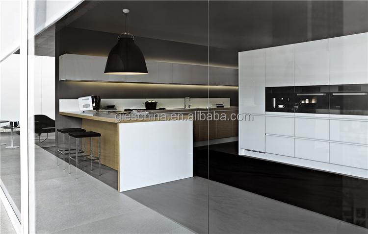 Plastic Kitchen Cabinets Pvc Mdf Kitchen Cabinet Lacquer Kitchen