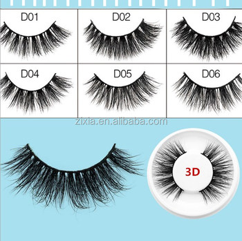 private label Cheap wholesale mink lashes 3D fiber synthetic hair false eyelashes