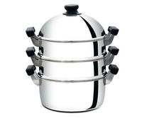 Stainless Steel Steaming Set Stainless Steel Lid