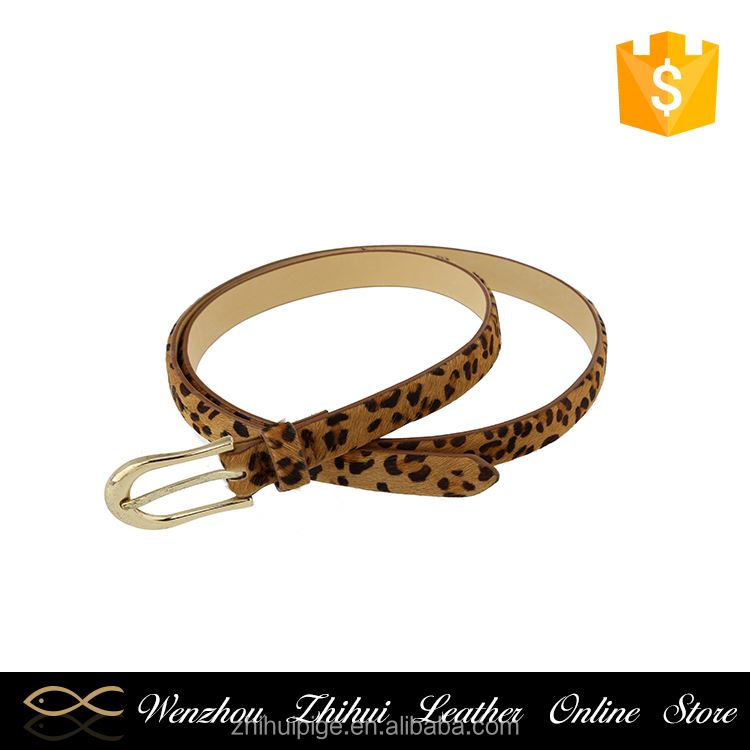Hot sale simple design luxury super light skinny belt on alibaba