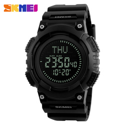 Skmei #1259 fashion sport analog digital watch of men dual time compass sport men military watches