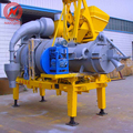 8-10 t/h road construction mobile small asphalt hot mix plant